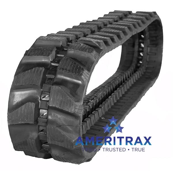 Komatsu PC07 rubber track