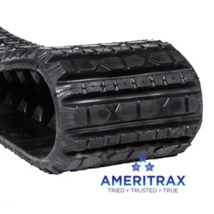 Cat 257B rubber track