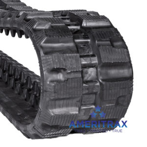 Cat 259D rubber track