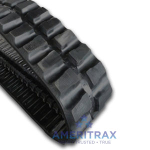 Cat 307 SSR rubber track