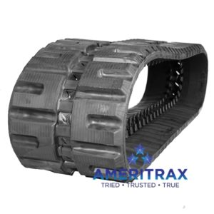 Cat 252B rubber track