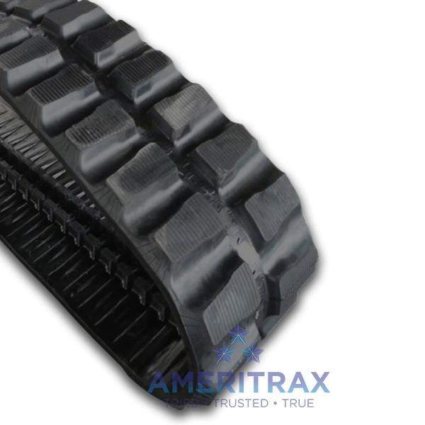 Cat 308C CR rubber track