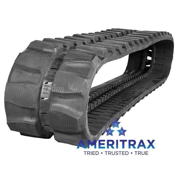 Hitachi EX55 rubber track