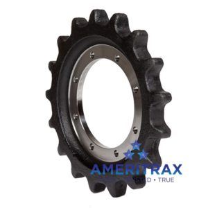 john deere ct322 sprocket