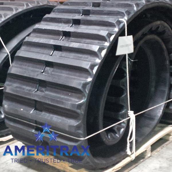 Morooka MST2200 rubber tracks